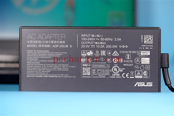 New Original 200W AC Adapter 20V 10A for ASUS TUF Gaming Ryzen R7 5800H RTX3070