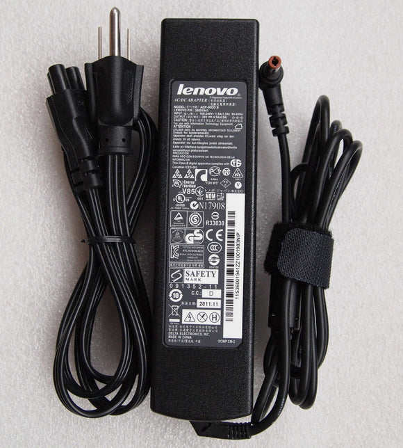 @Original Genuine 90W Slim Supply Battery Charger Lenovo 36001941/ADP-90DD B OEM