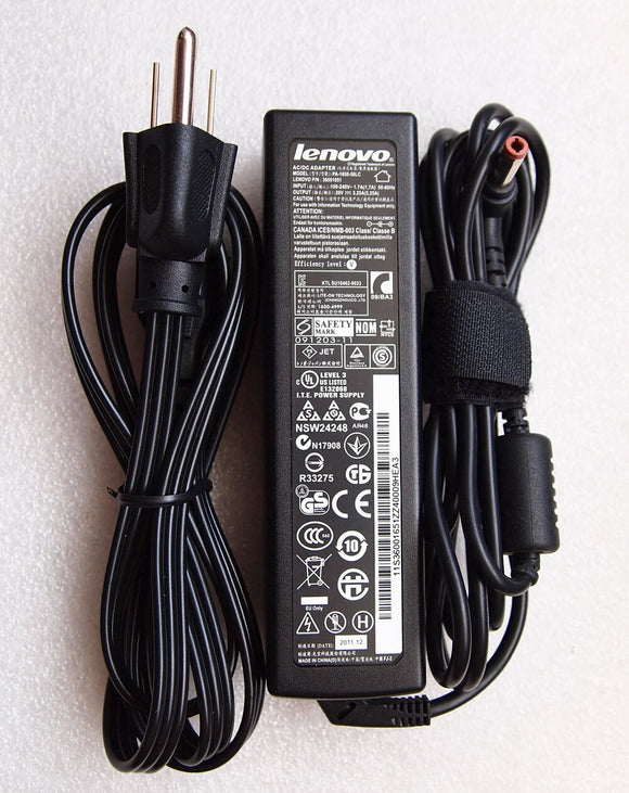 Original Genuine OEM Lenovo 65W AC Power Adapter for Lenovo B570 1068-A2U Laptop