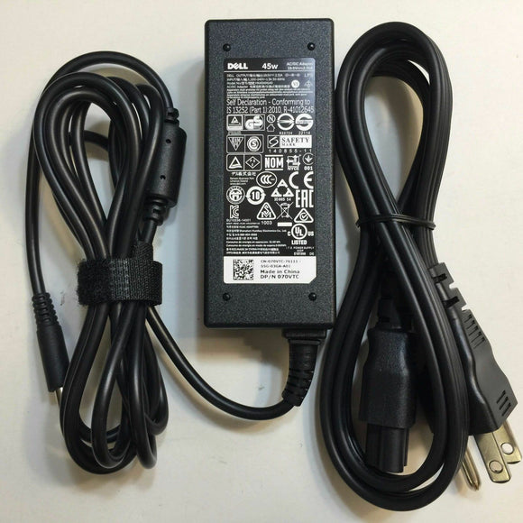 New Original OEM Dell 19.5V 2.31A AC Adapter for Inspiron 13 7359,P57G002 Laptop