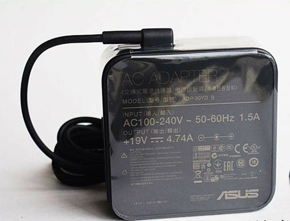 New Original OEM ASUS 90W Smart AC Adapter for ASUS Zenbook U500VZ-CN032H Laptop