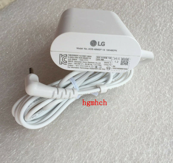 New Original OEM LG Gram 48W AC/DC Adapter for LG gram 14Z990-GA50K Ultra Laptop