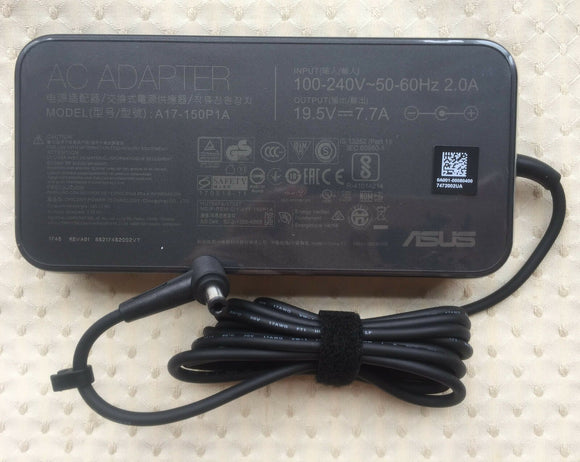 New Original ASUS Rog Strix GL703VD-GC064T,A17-150P1A,150W 19.5V AC Adapter&Cord