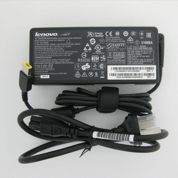 @Original OEM Lenovo ThinkPad T460p 20FW0057US,ADL135NDC3A,5A10J46690 AC Adapter