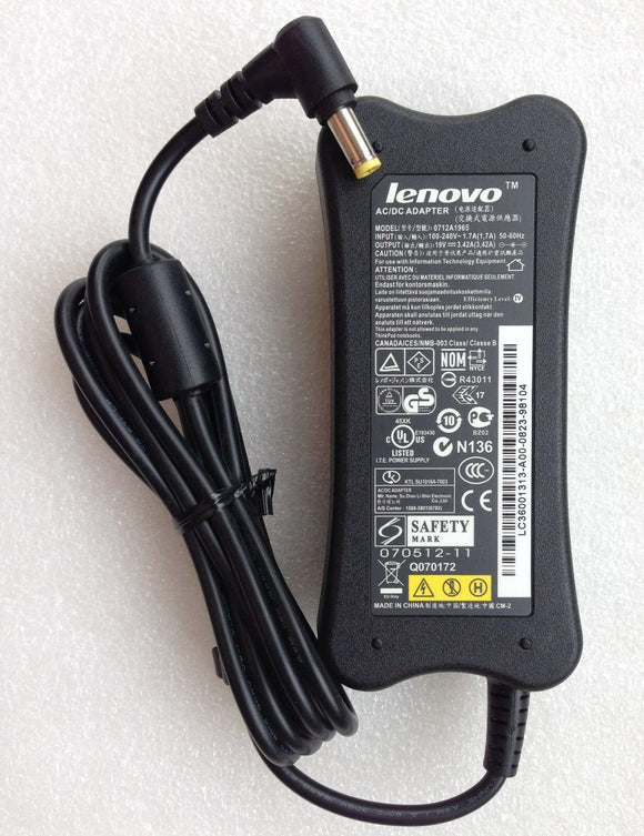 Original OEM 65W AC Adapter Power Charger for Lenovo 3000 Y410 g530 g550 n500