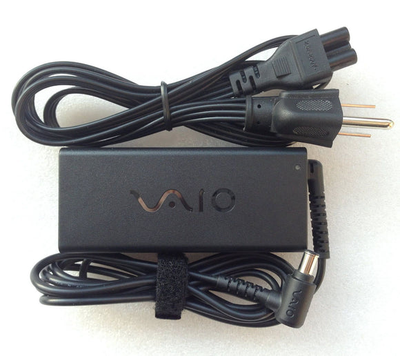 New Original OEM Sony 65W AC Adapter for Sony VIAO PCG-41311L,VGP-AC19V49 Laptop