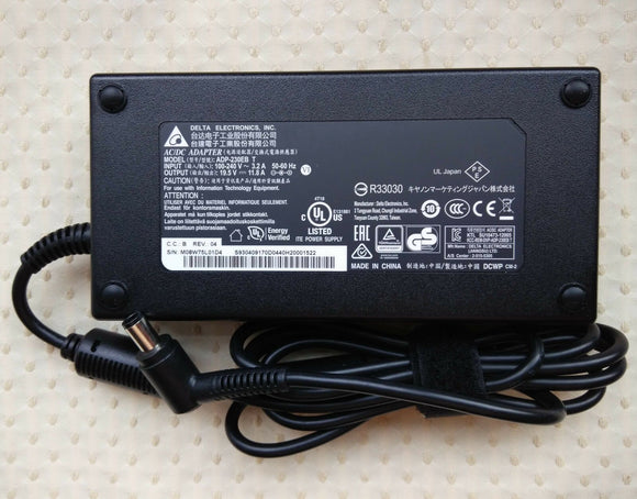 Original Delta MSI 230W Cord/Charger GT72VR-6RD16H21 (001785-SKU4),ADP-230EB T@@
