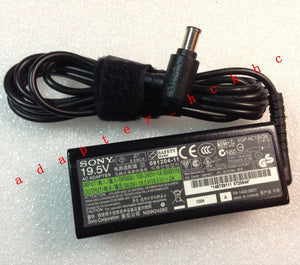 New Original Genuine OEM Sony 39W Cord/Charger VAIO PCG51311L,VGP-AC19V39 Laptop