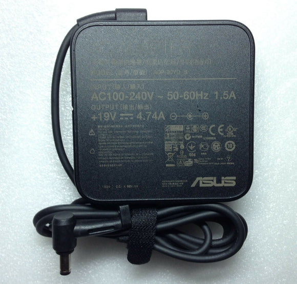 Original Genuine OEM ASUS ADP-90YD B,90W 19V 4.74A AC Power Adapter Charger/Cord
