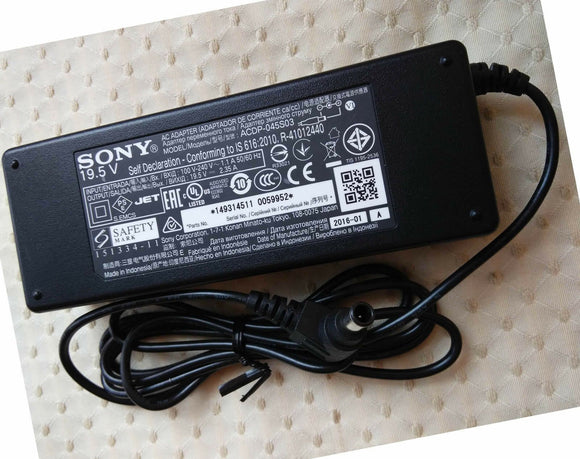 New Original OEM Sony 19.5V AC/DC Adapter for Sony Bravia KDL-32WD600 LCD/LED TV