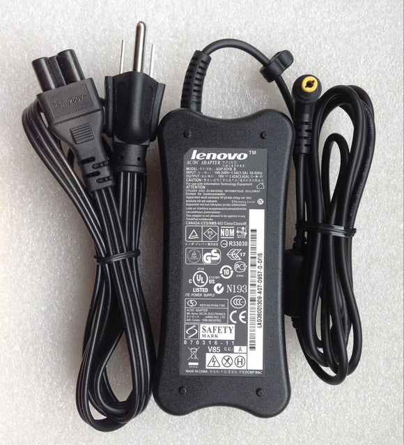 Original AC/DC Power Adapter Supply battery charger Lenovo 3000 G550 N500 Series