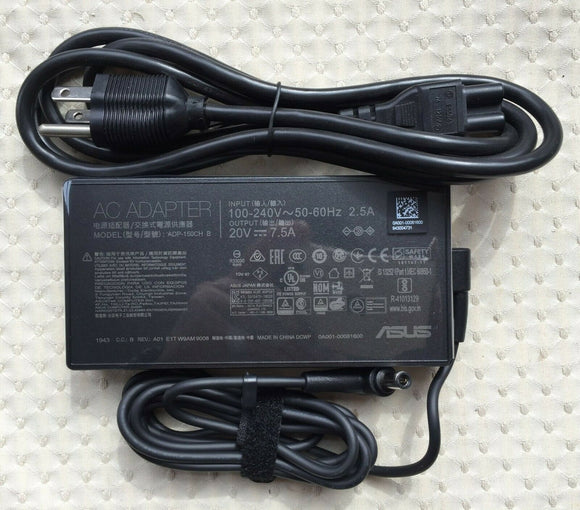New Original ASUS ROG G531GT-BQ026T ADP-150CH B 150W 20V 7.5A AC/DC Adapter&Cord