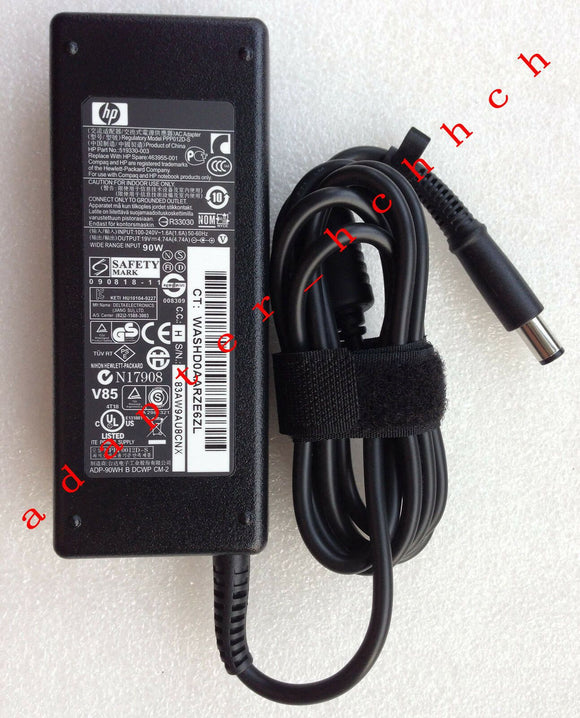 New Original Genuine OEM HP 90W Smart AC Adapter for HP Compaq 6530b Notebook PC