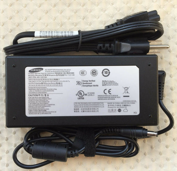@New Original OEM Samsung 19V 6.32A AC Adapter for Samsung Odyssey NT800G5M-X79W