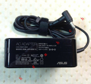 New Original ASUS AC Adapter Cord/Charger for ASUS K401LB,K401UB,K401UQ Notebook