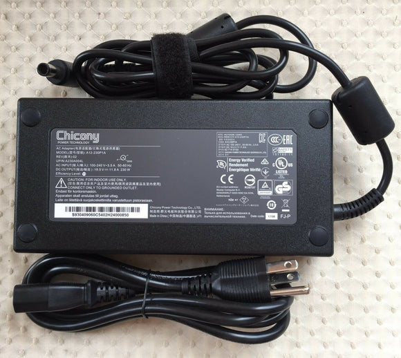 New Original MSI GP63 Leopard 8RF-251PL,A12-230P1A,Chicony 230W 19.5V AC Adapter