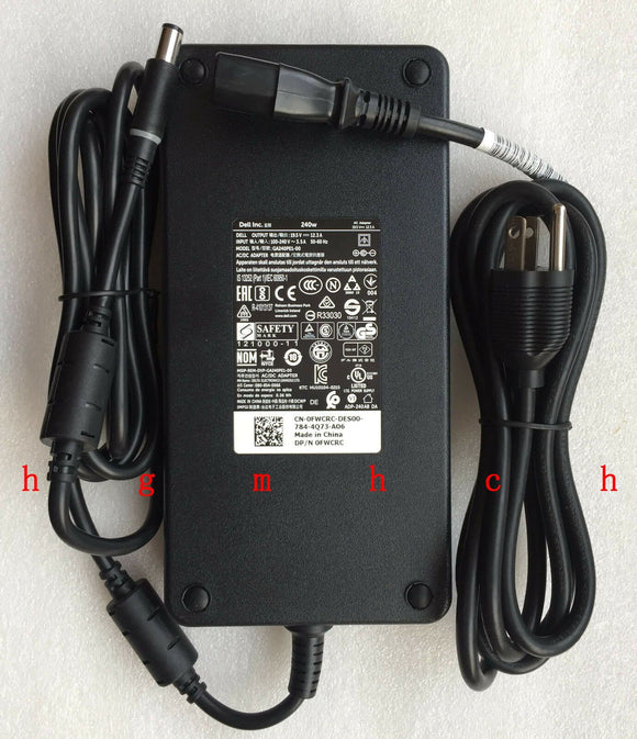 @Original Dell Precision 7710/P29F001 GA240PE1-00,FWCRC 450-AATG 240W AC Adapter