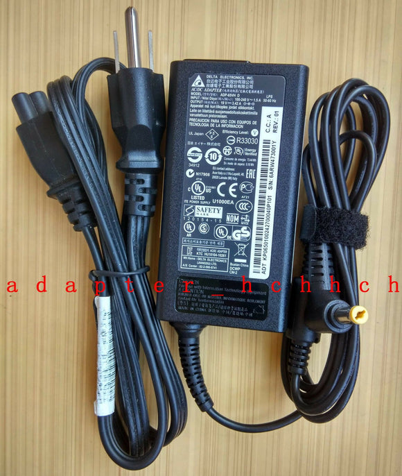 New Original Acer Aspire E1-410 E1-422 E1-430 Ac Adapter Charger& Power Cord 65W