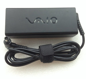 Original OEM Sony VAIO SVS131,SVS13A VGP-AC19V60,92W 3P AC Adapter Cord/Charger