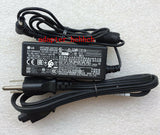New Original OEM LG 19V AC/DC Adapter&Cord for LG IPS Monitor 22MP56HQ,24MP56HQ