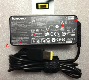 Original Genuine OEM Lenovo 45W AC Adapte for ThinkPad X240 20AL000QTW Ultrabook