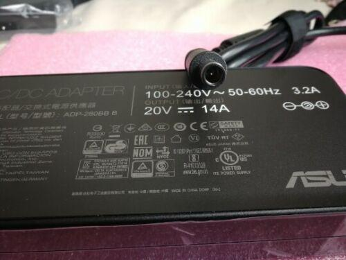 New Original 280W 20V 14A AC Adapter for MSI GE75 Raider 9SF/RTX2070 ADP-280BB B