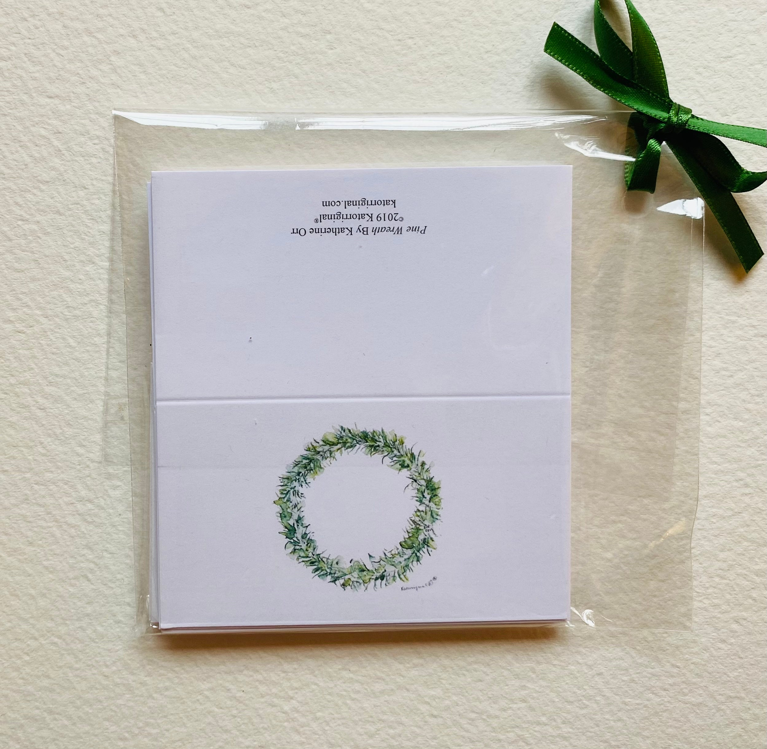 Pine Wreath Gift Cards