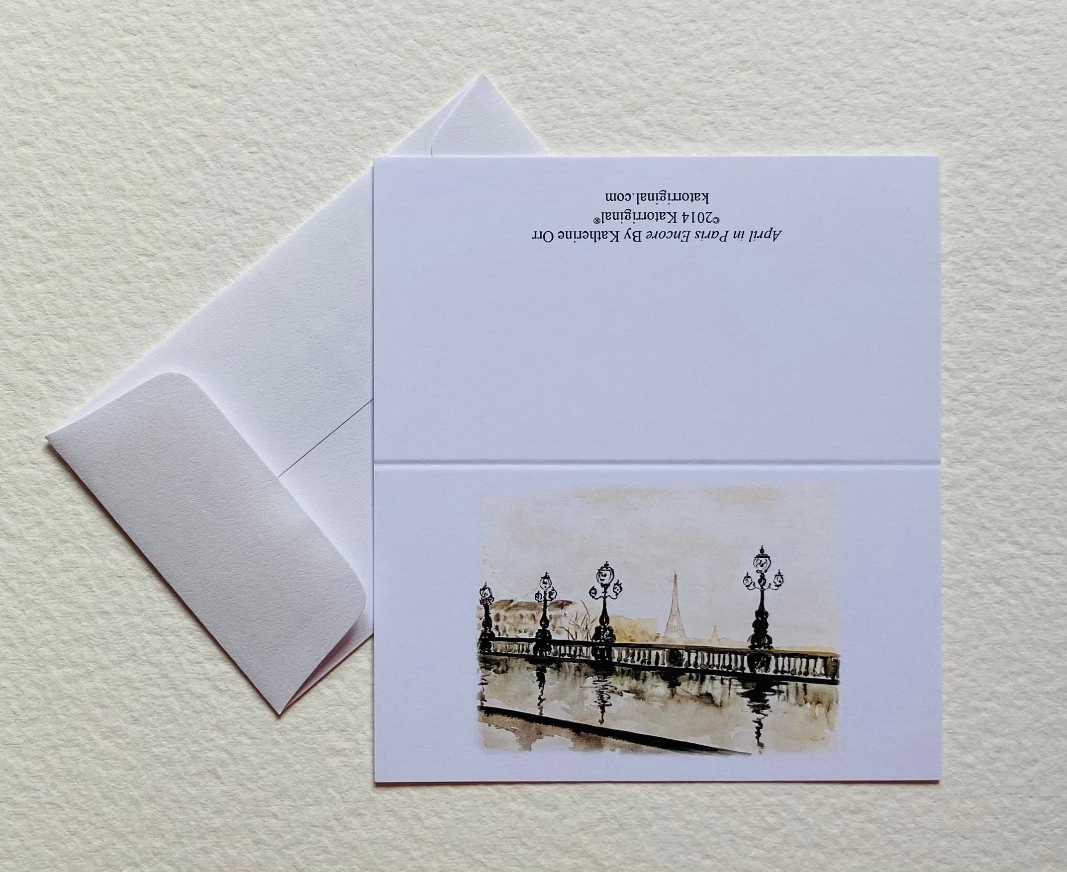 April in Paris Encore Gift Cards
