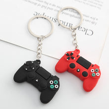 Load image into Gallery viewer, Men's Simple Video Game Handle Keychain Couple Joystick Machine KeyChain Keyring for Boyfriend Key Holder Trinket Gift Wholesale