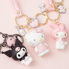 Load image into Gallery viewer, Hello Kitty Kuromi Doll Keychains Cartoon Cute KT Cat Key Chain Accessories Pendant Car New KeyRings The Girl's Favorite Gift