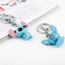 Load image into Gallery viewer, Cartoon Trinket Resin 3D keychain Lovely Key ring Car Keyholder Women Men key chain llaveros