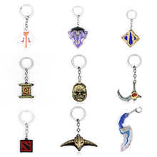 Load image into Gallery viewer, Dota 2 keychain Pudge Toys set New Game Dota2 Weapons Sword Talisman Props Ornaments Car Styling Decor Gift for Player Game Gift