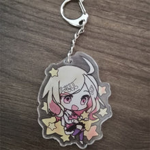 Load image into Gallery viewer, Anime Danganronpa V3 Key Chains Two-sided Keychain Cosplay Acrylic Pendant Keyring
