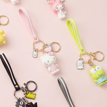 Load image into Gallery viewer, Cartoon Cute Kuromi Melody Keychain Hello,Kitty Keychain Lady Girl Charm Bag Pendant Keychain Car New Key Ring Wholesale 2020