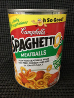 Campbells Spaghettio's with Meatballs