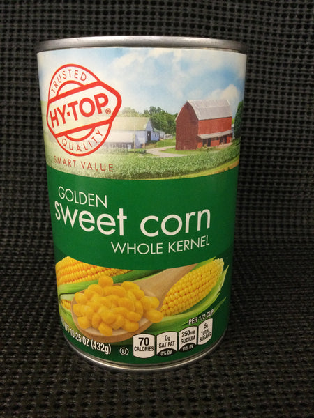 HyTop Golden Sweet corn- Whole Kernel