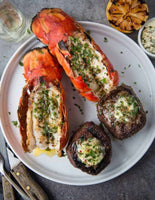 Surf and Turf- 2ea Lobster Tails and 2ea Baseball Filets