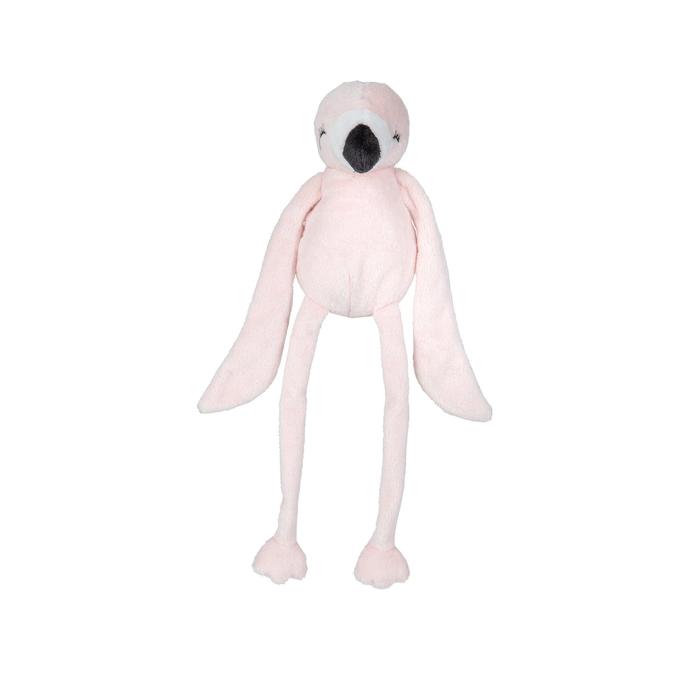 Baby knuffel flamingo van Nature Planet