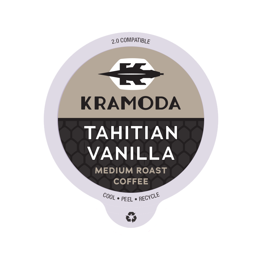 Tahitian Vanilla Coffee K-cups