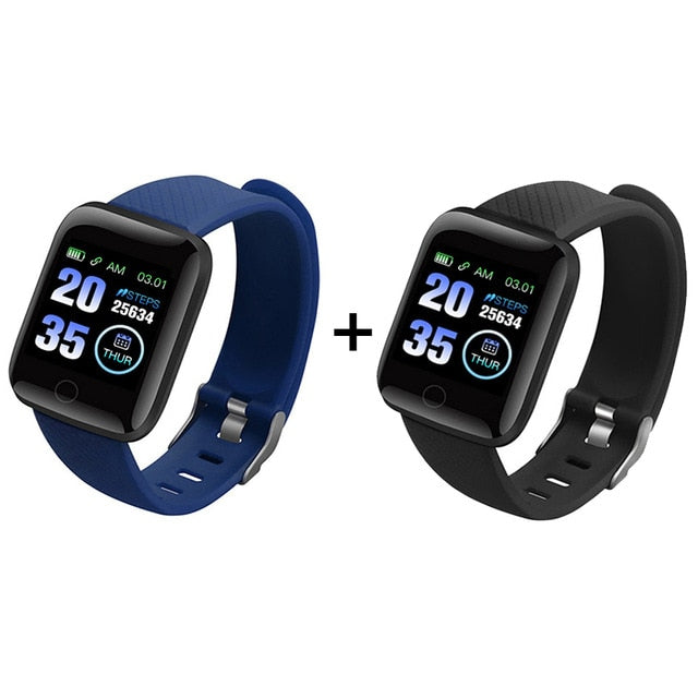 Smart Watch - Heart Rate | Blood Pressure Monitor  - Waterproof Sport Smartwatch For Android IOS