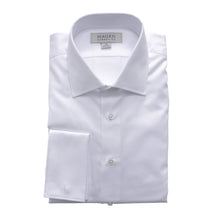 WHITE DOBBY FC DRESS SHIRT