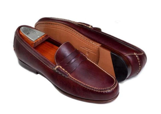 Saddle Leather Penny Loafer