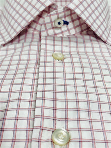 PINK GRAPH CHECK DRESS SHIRT