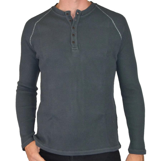 MAGIC WASH THERMAL L/S HENLEY