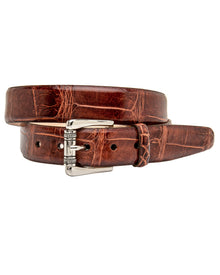 Jefferson Authentic Alligator Belt