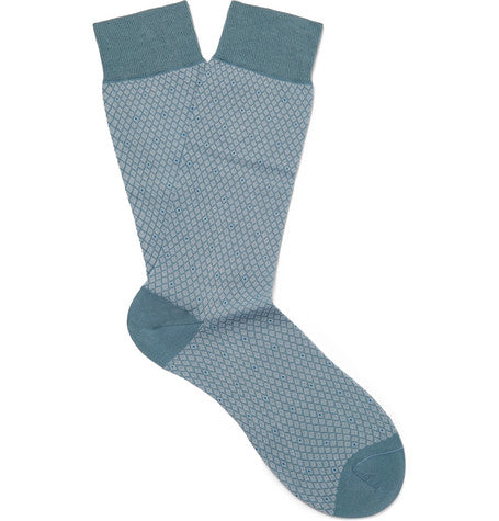 DALBY PATTERNED OTC SOCKS