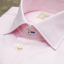 SOFT PINK SUPER FINE TWILL DRESS SHIRT