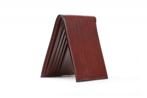 EXECUTIVE I.D WALLET W/RFID IN BROWN