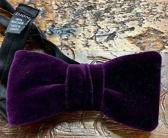FORMAL  VELOUR BOWTIE SOLID