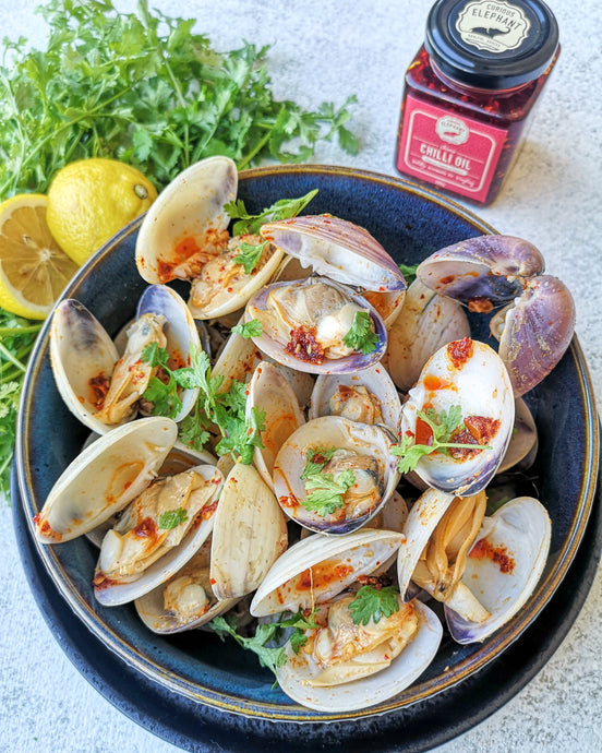 Chilli Coriander Clams